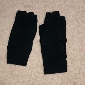 Vigoss size 10-12 leggings. **2 leggings**
